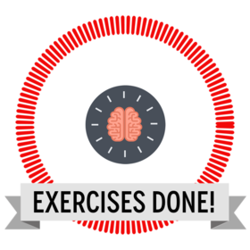 Exercise set done! Icon
