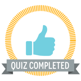 Quiz completed Icon